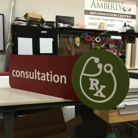 Custom Foamboard Signs