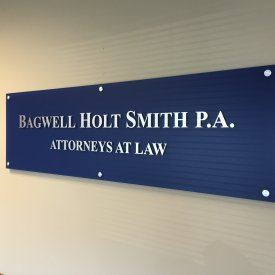 Corporate Lobby Sign